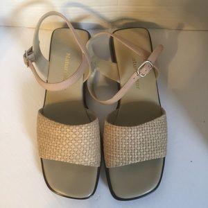 Naturalizer Beige Sandals 7M